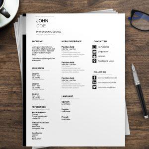 Europass CV update | Europass CV Template