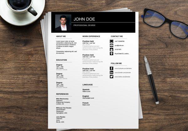 CV Europass online | CV Europass Template