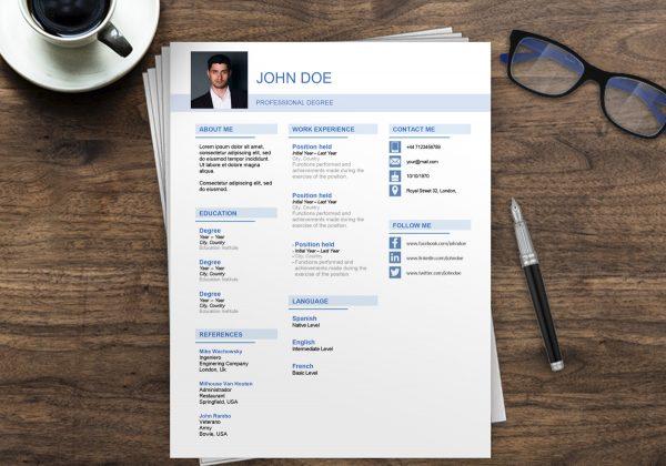 Best Resume Template Australia | Free Resume Examples