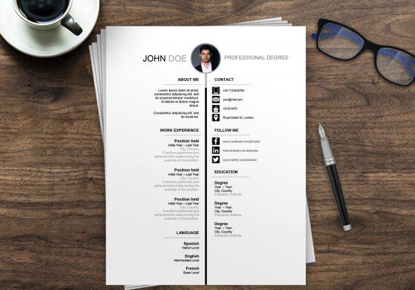 Resume Template Word Australia | Free Resume Examples