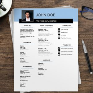 Free Resume Templates word | Free Resume Examples
